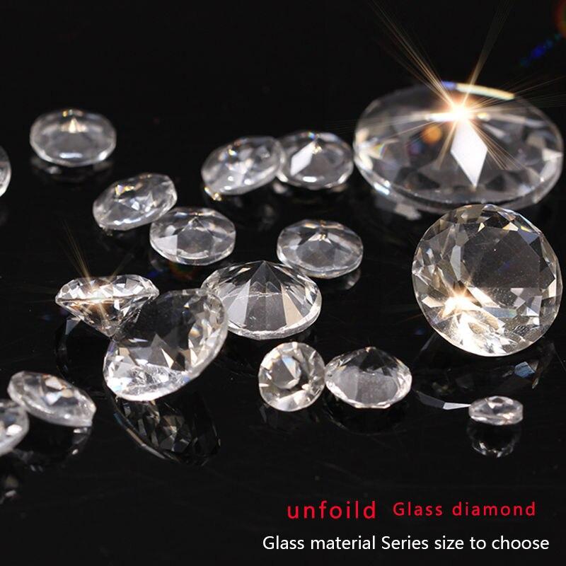 6/8/10/12/14/16/18/20/25mm parte trasera en punta redonda, cristal, diamantes de imitación, gemas, piedras para boda, mesa de fiesta, embellecedor para joyas