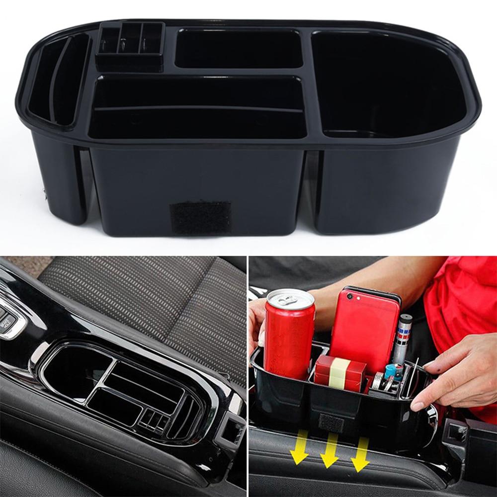 ABS soporte para vaso de agua para coche caja de almacenamiento contenedor bandeja para Honda Vezel HR-V HRV