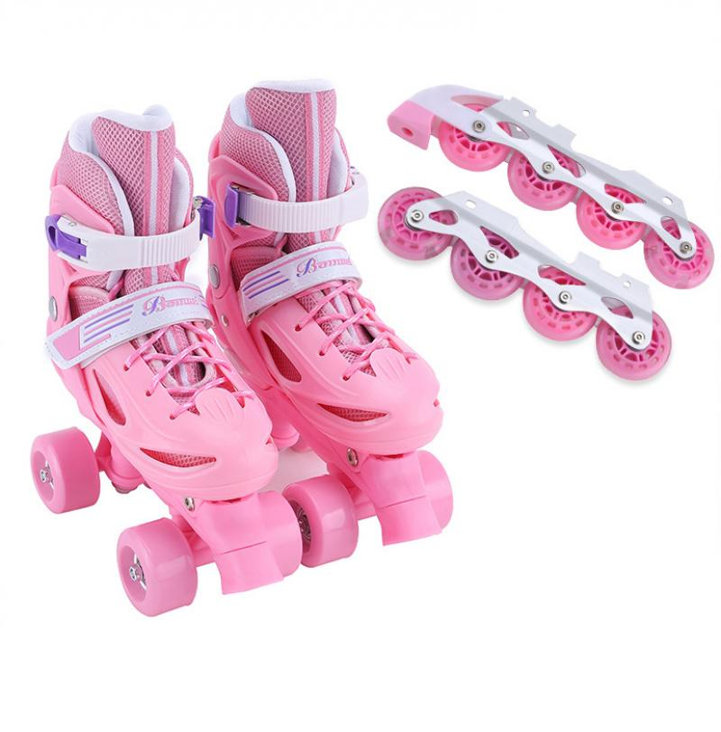2021 регулируемые роликовые коньки, детские роликовые коньки, роликовые коньки, кроссовки, Детские уличные коньки, спортивная обувь