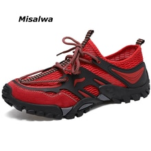 Misalwa séchage rapide hommes espadrilles décontractées Couple fille durable en plein air eau chaussures femme doux été chaussures plates pour homme surdimensionné 36-46
