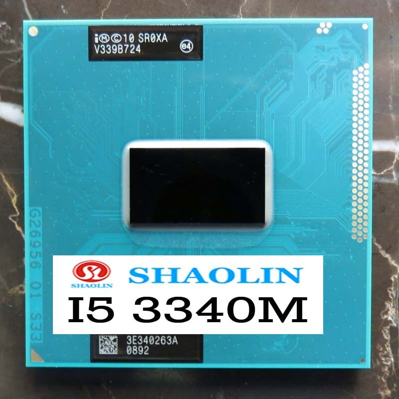 I5-3340M i5 3340 متر SR0XA 2.7 جيجا هرتز ثنائي النواة رباعية الموضوع معالج وحدة المعالجة المركزية 35 واط الأصلي شاولين النسخة الرسمية الأصلي شحن مجاني