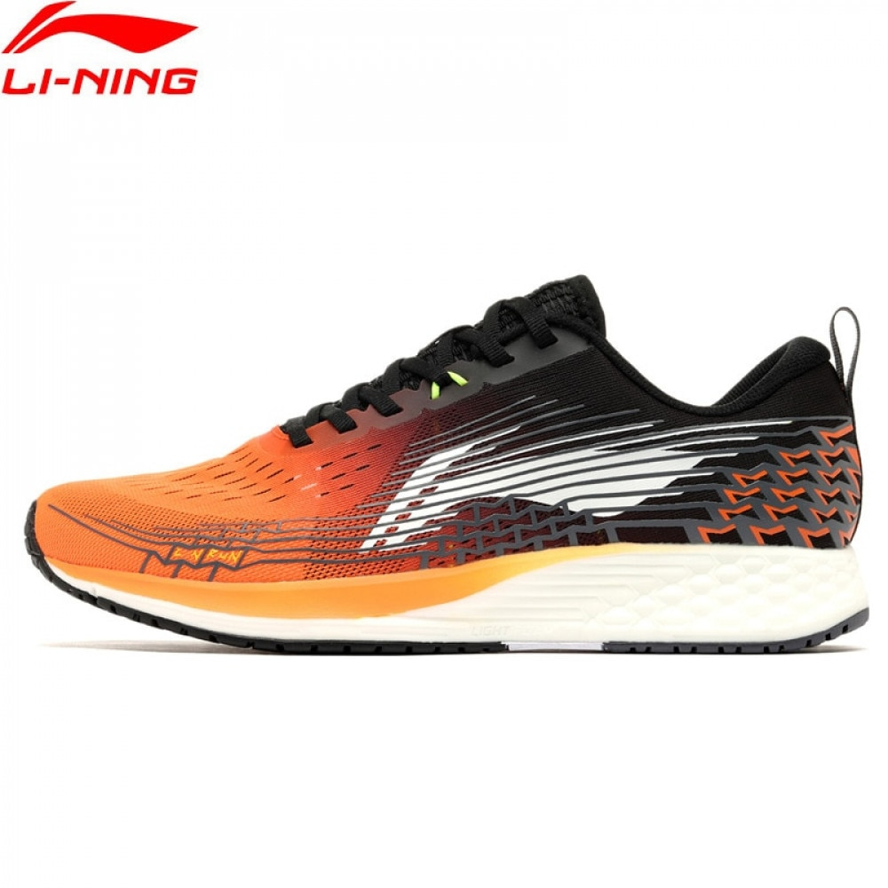 Li-Ning Men ROUGE RABBIT IV Running Shoes Light Weight Marathon LiNing Breathable Sport Shoes Sneakers ARBP037 ARBR015