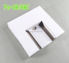 10 шт. для игровой консоли GB GBC, новая упаковочная коробка, картонная внутренняя вставка, лоток, розничная посылка вая карта, пакет JP US для игровой консоли