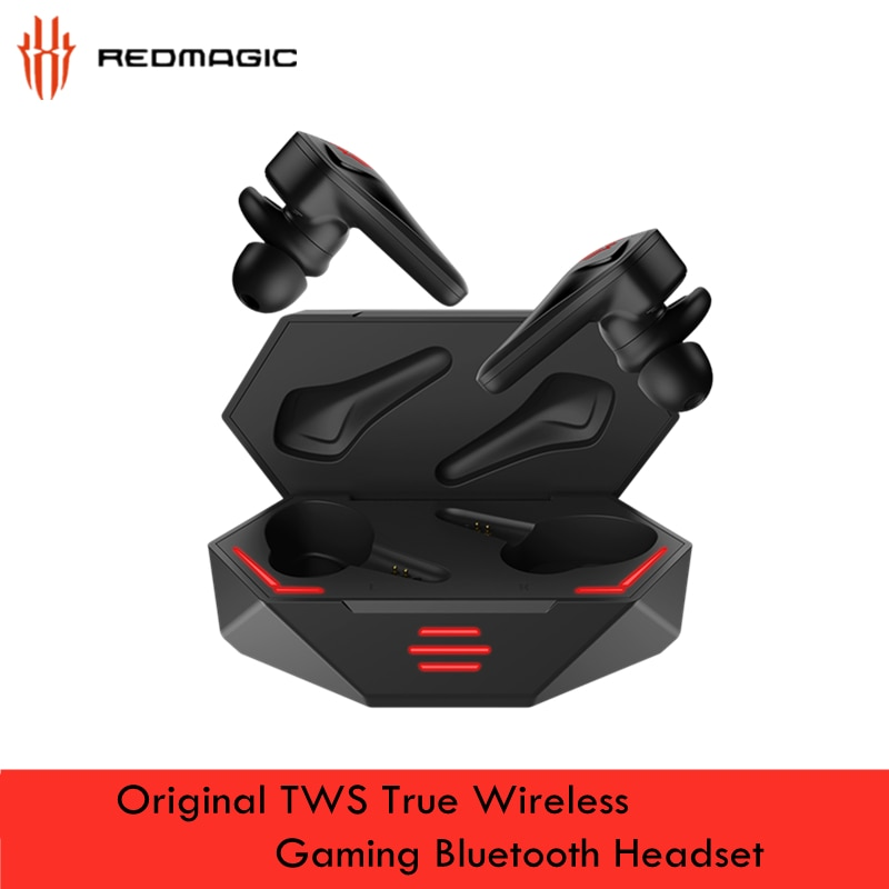 Global Version Original ZTE RedMagic TWS Gaming Earphone for Nubia 5S 5G Wireless Bluetooth Earbuds E-Sports Universal headset