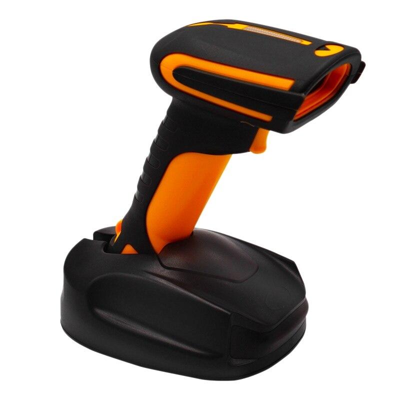 슈퍼마켓 출납원 급행 창고를 위해 적당한 무선 Bluetooth 소형 1D 제 2 바코드 스캐너