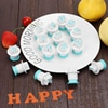 Letter Mold Plastic Bakeware Pastry Mini Lowercase Uppercase Cake Decorating Tool Chocolate Fondant Cookies Cutter Cupcake