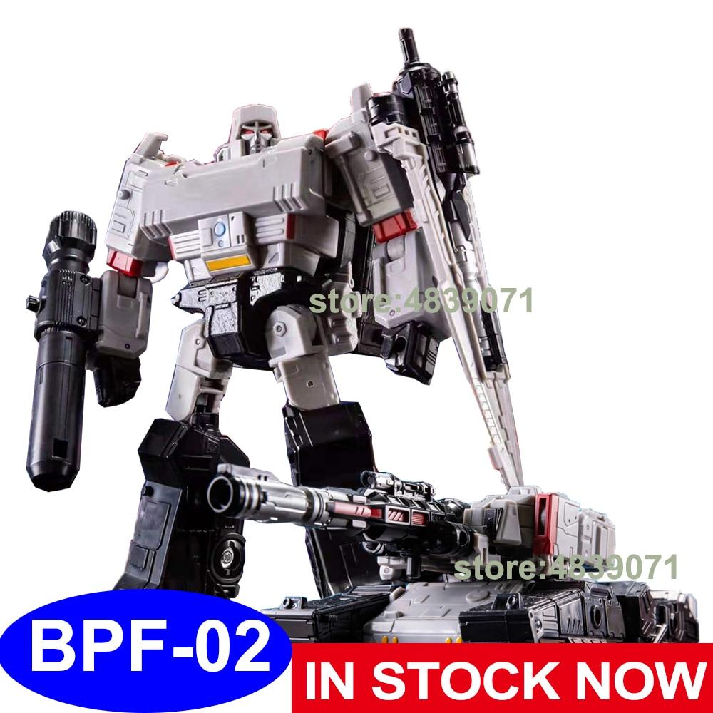 BPF figurine jouets BPF-02 BPF02 G1 G2 agrandi Galvatron méga réservoir OP commandant camion déformation Robot Transformation