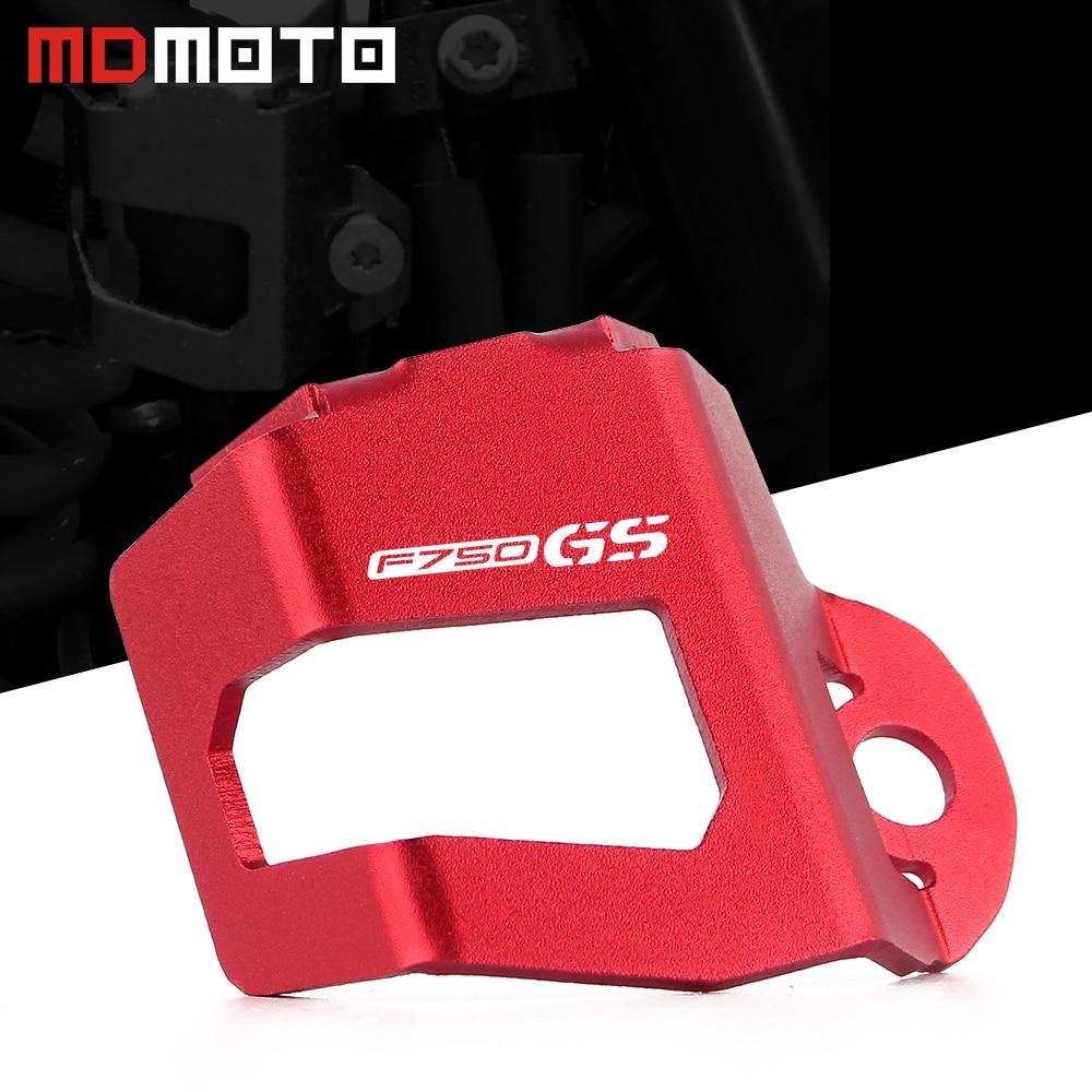 Tapa protectora para depósito de líquido de freno trasero de motocicleta, Protector de tapa para BMW F850GS F750GS F750 F850 GS 2018-2019