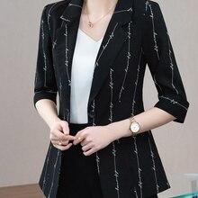 Printed Small Suit Jacket For Women Spring Summer 2021 New Korean Style Elegant Western Slim Fit Des