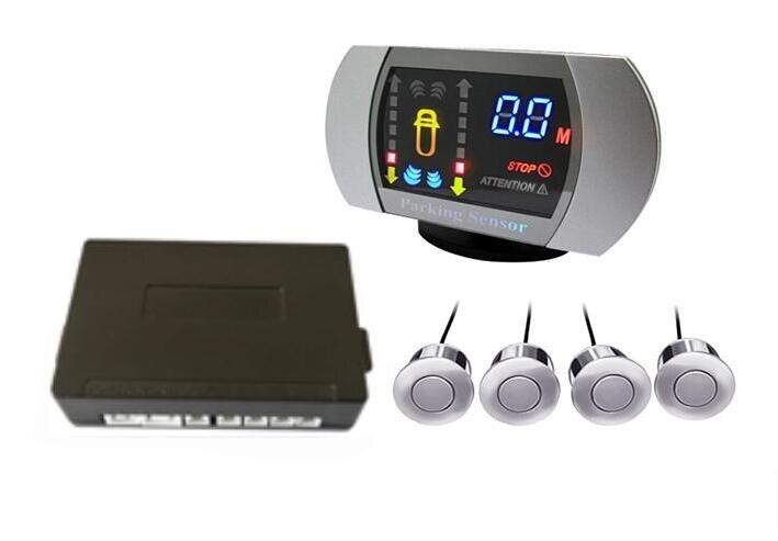 VFD HUD Дисплей парктроник сенсор 4 радар обратный монитор детектор парковки работа для Toyota и т. Д. Система 12В для любого автомобиля Стайлинг