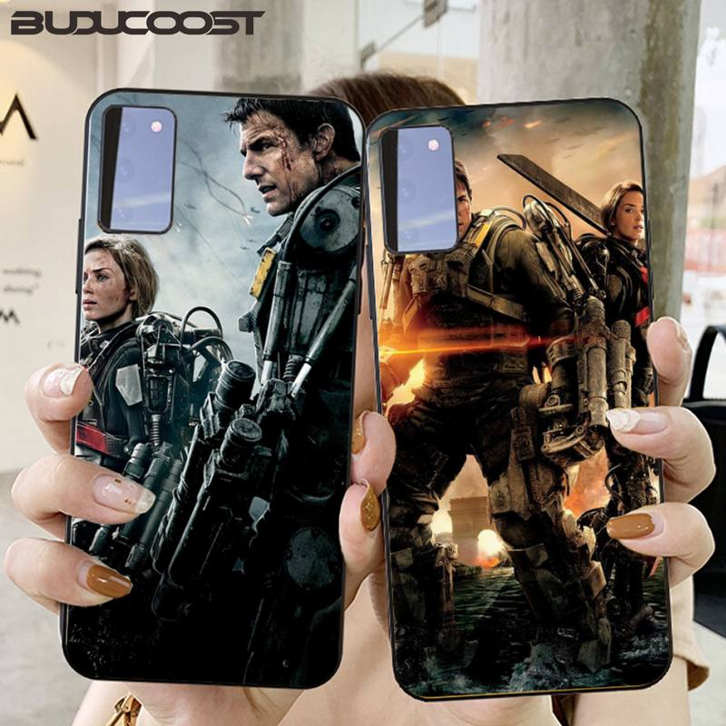 Edge Of Tomorrow Phone Case For Samsung Galaxy S10 Plus S10E S6 S7 Edge S8 S9 Plus S10lite S20 Plus S20 Ultra