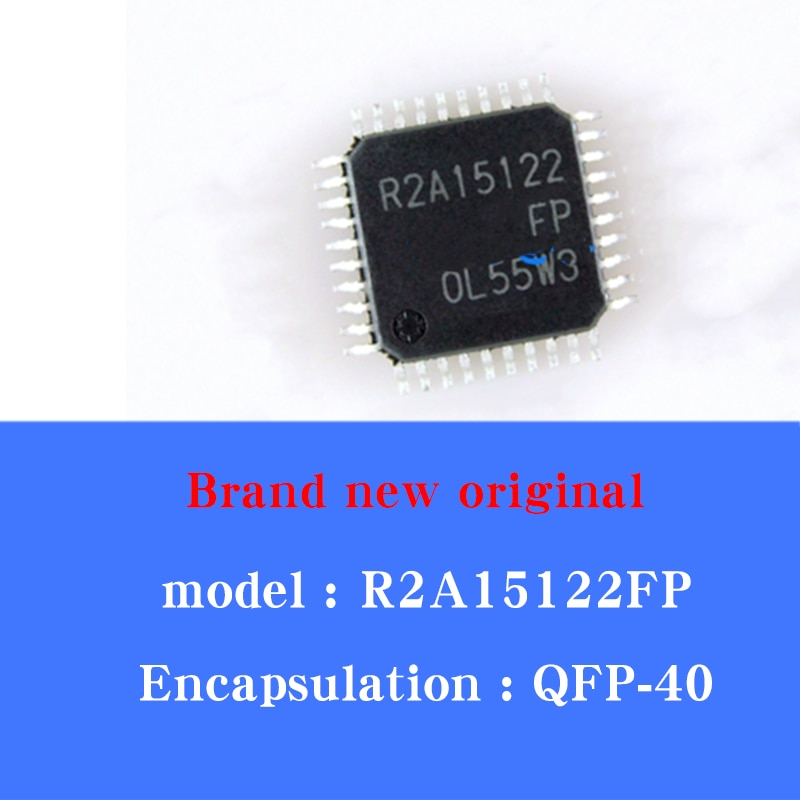 5/pcs Lot Brand new original R2A15122FP brand new LCD audio driver IC chip QFP-40