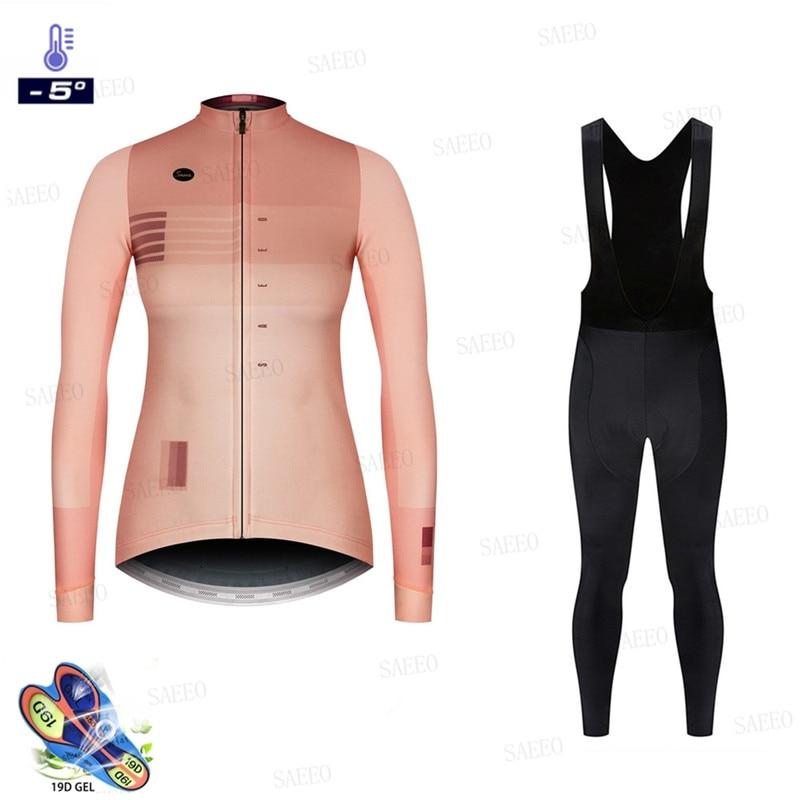 Mujer invierno ciclismo ropa 2020 jersey pro de ciclismo conjuntos jersey mujer ciclismo Go maillot ciclismo bik