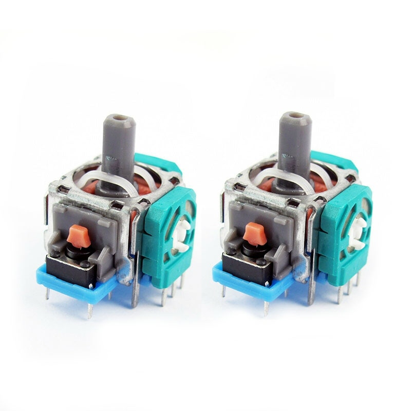 2/5/10Pcs Replacement 3D Controller Joystick Analog Stick Sensor Module for PS4 Joysticks Games Accessories Joysticks DJA88