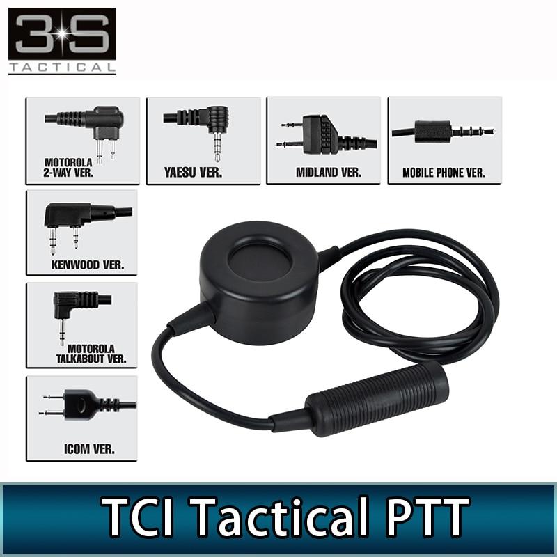 Тактическая версия ZTCI PTT в стиле милитари для телефона Motorola Kenwod Midland, аксессуары для гарнитуры, с поддержкой стандарта «милитари»