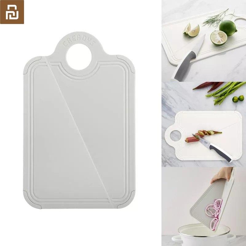 Youpin jordan & judy cozinha dobrável cortar blocos pp placa de corte de carne placa de corte de frutas acampamento piquenique placas de corte