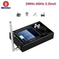 3 2 portapack h2 hackrf one antenna aluminium case kit sdr software defined radio 1mhz 6ghz assembled