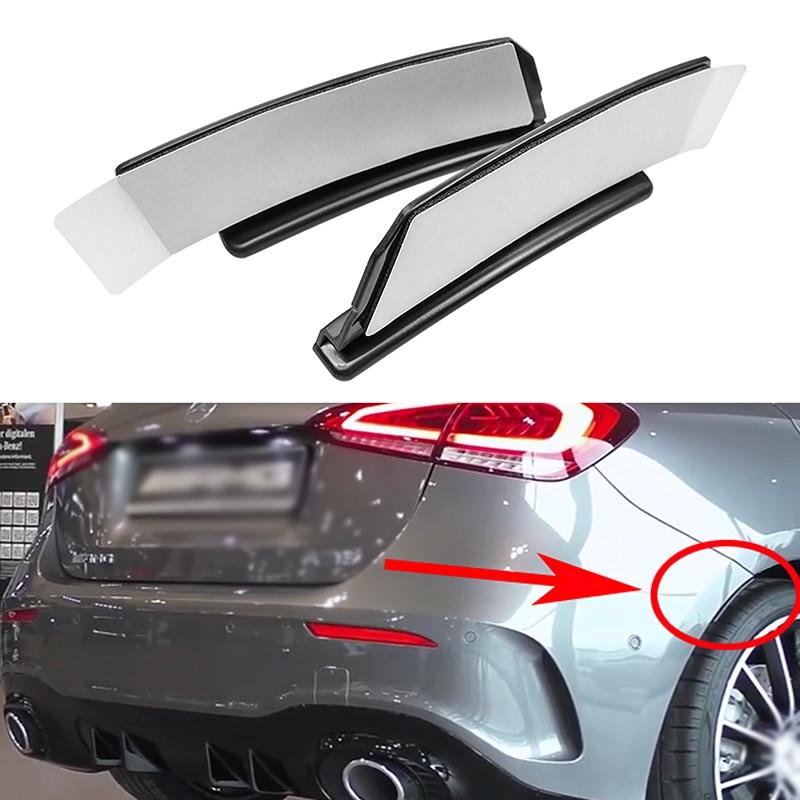 For Benz A Class W177 Hatchback AMG A180 A200 A250 A35 2019+ Car Rear Bumper Cover Trim Fender Flare Extension Wheel Eyebrow Lip