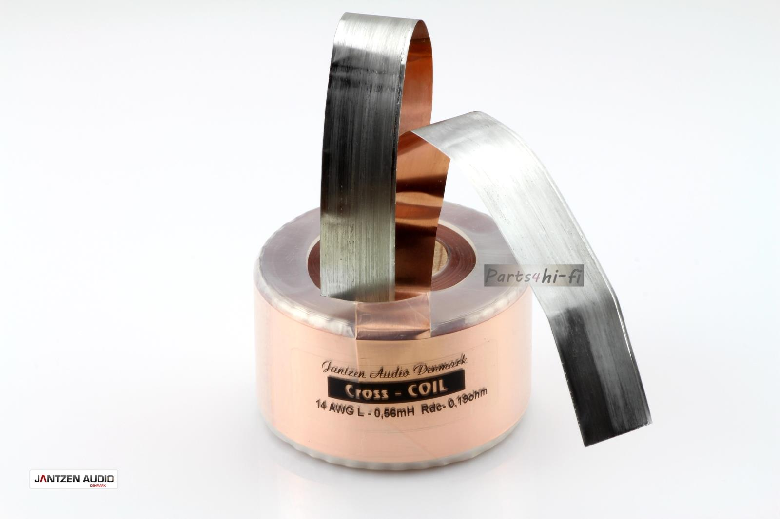 2pcs/lot Denmark Jantzen-audio Cross Coil Crossover/Copper Inductor 14AWG Series free shipping