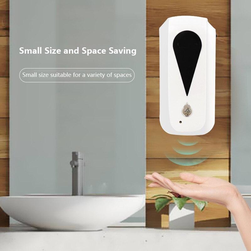 Desinfecção automática do pulverizador da névoa do sensor da parede do distribuidor do sabão da máquina da desinfecção da mão de 1200 ml touchless