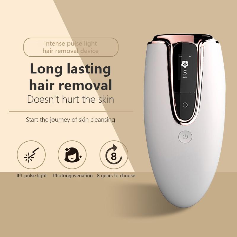 Electric Ipl Laser Hair Removal Machine Professional Body Laser Epilator for Women & Men Photoepilator Face Underarm Bikini Line