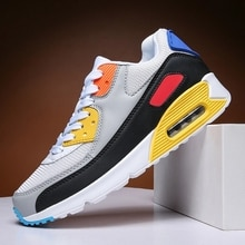 Men Casual Shoes for Men Fashion Mesh Light Breathable Sport Running Shoes Jogging Shoes 36-47 Zapat