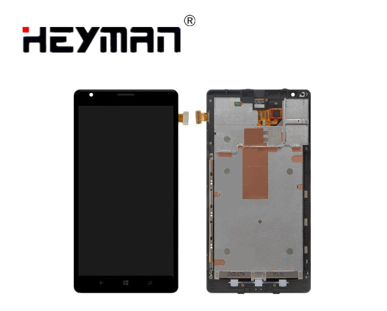 Montaje de pantalla LCD para Nokia 1520 Lumia pantalla LCD digitalizador Panel...