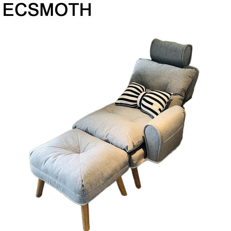 Zitzak Divano-muebles plegables Para Sala De estar, tumbona reclinable, sofá
