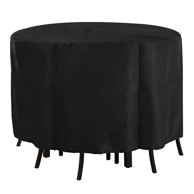 Cubierta de mueble Mesa Aire Libre Muebles de Jardín cubierta de polvo impermeable Silla de mesa redonda cubiertas de lluvia JS22