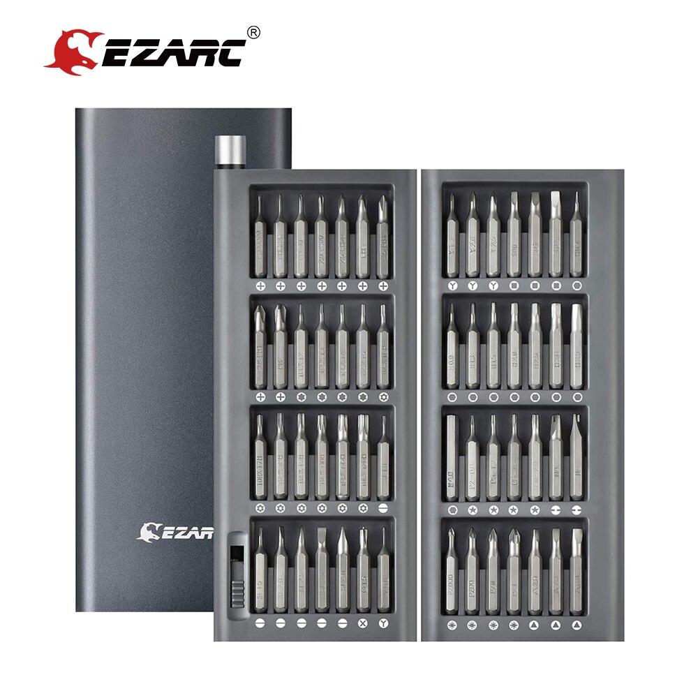 EZARC-مجموعة مفكات دقيقة 57 في 1 ، أدوات إصلاح الهاتف الخلوي ، بت توركس سداسية