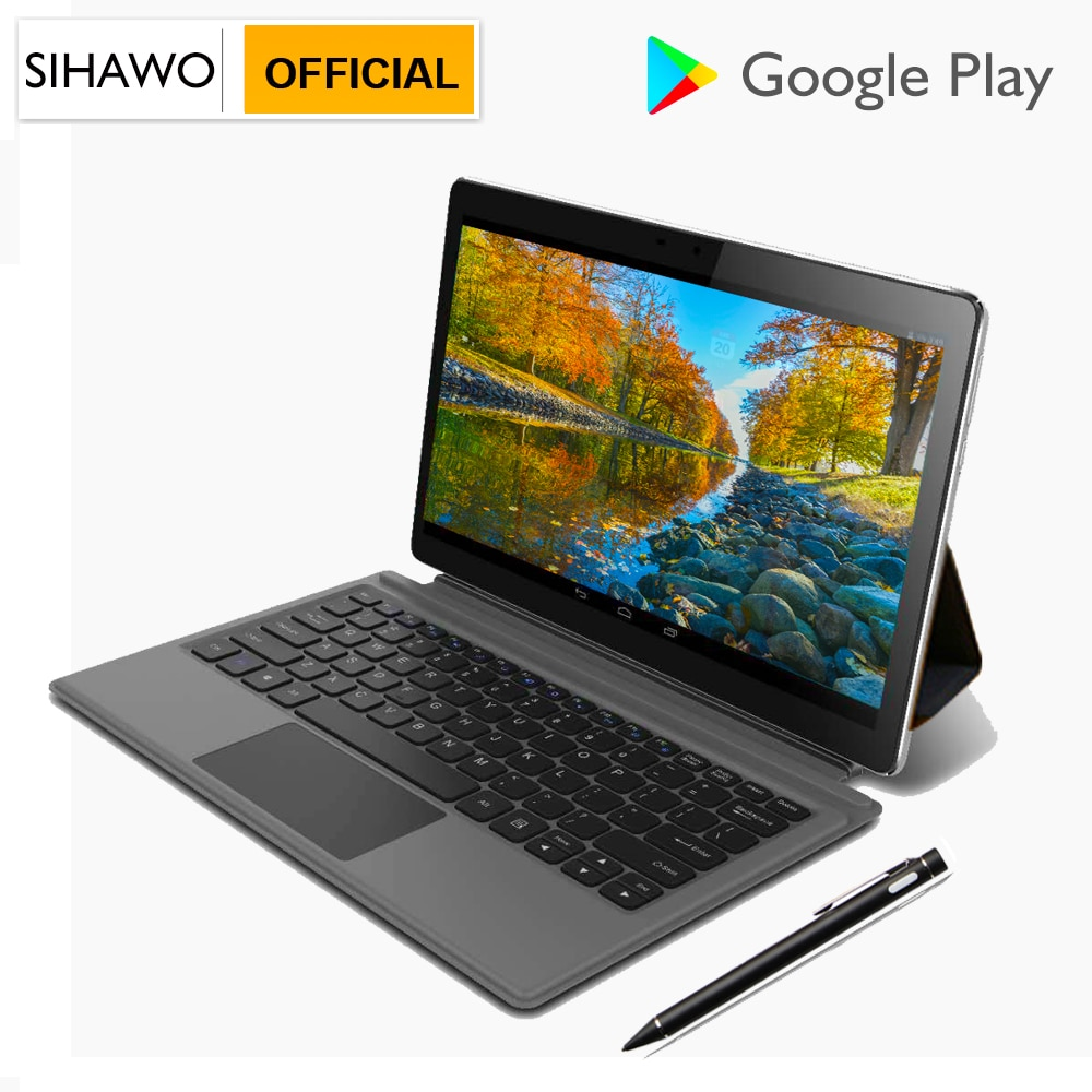 11.6Inch 8GB RAM 128GB ROM MTK 6797 X27 10 Core Android 8.0 Tablet PC 20MP+8MP Cameras 4G Phone Call 2560x1600 FM 2 in 1 Tablets