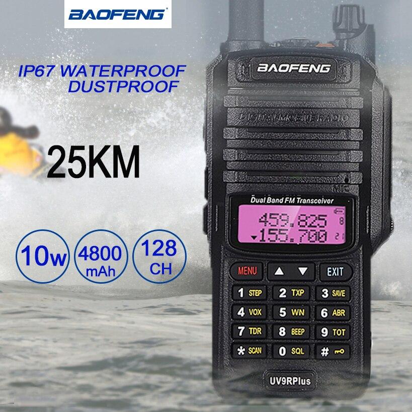 Baofeng UV-9R زائد اسلكية تخاطب IP67 الغبار مقاوم للماء UHF VHF هام CB محطة راديو HF اتجاهين البحرية الراديو