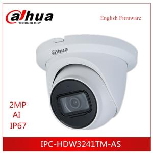 Dahua IP Camera 2MP Lite AI IR Fixed focal Eyeball Netwok Camera IPC-HDW3241TM-AS Built-in IR LED 50m Security surveillance came