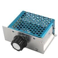 220v ac scr voltage regulator dimmer electric motor speed controller electronic 4000w volt regulator dimmer thermostat regulator
