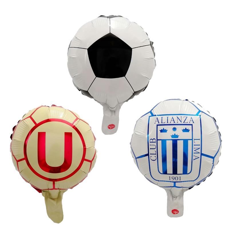 Globos de aluminio para mini Club de fútbol, decoración de celebración, equipo...