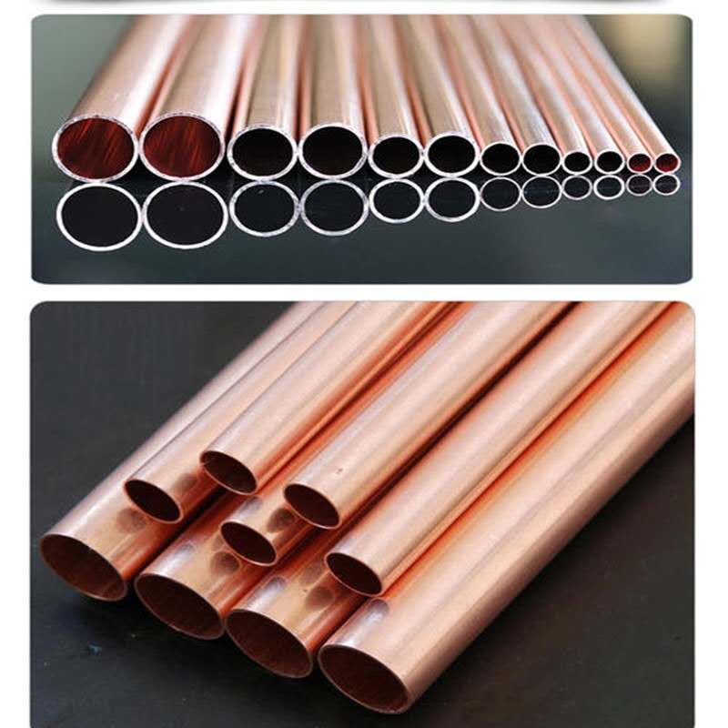 Red color 6-12mm copper pipe soft pipe straightening device brass bas straightening machine enlarge