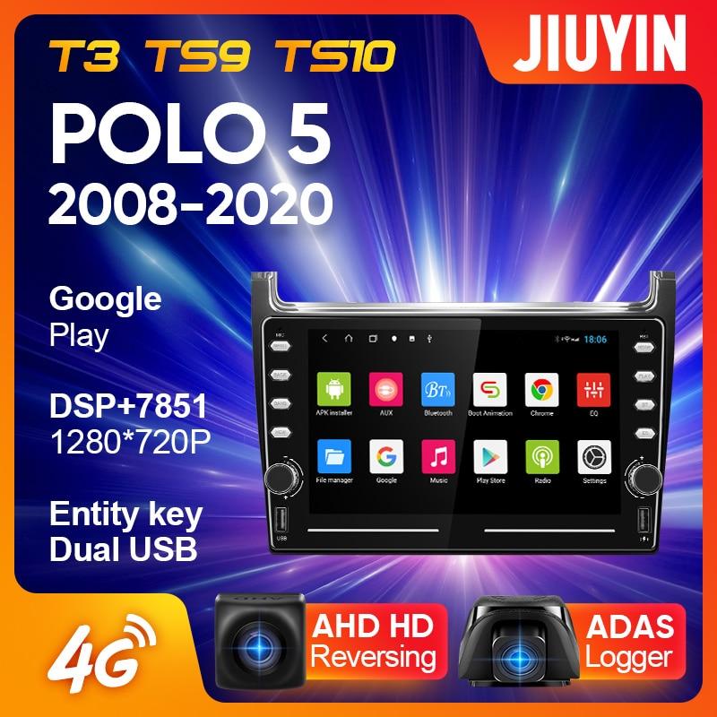 JIUYIN para Volkswagen POLO 5 2008-2020 auto Radio Multimedia reproductor de Video...