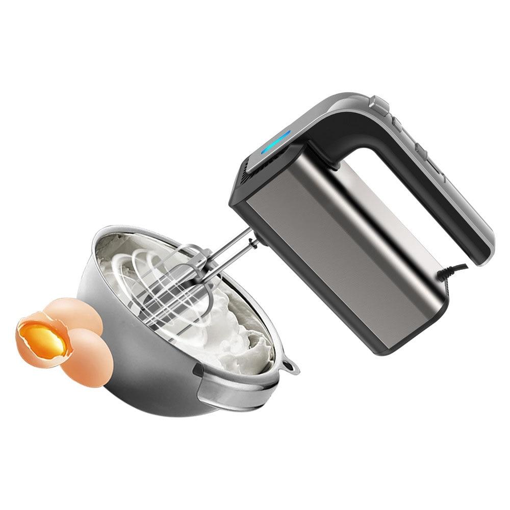 hand mixer chudesnitsa mp 3502 Electric Hand Mixer 5-Speed 500W Kitchen Food Dough Blender Cream blender Hand Mixer Electric Food Mixers Bread kneader