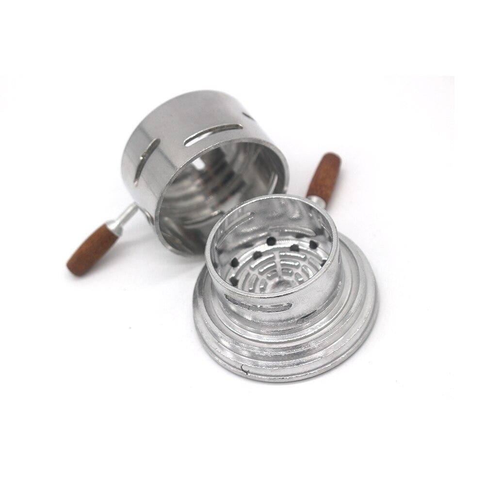 1 Pc Hookah Charcoal Bowl Carbon Burner Charcoal Stove Charcoal Furnace Kit Smoking Hookah Accessories enlarge