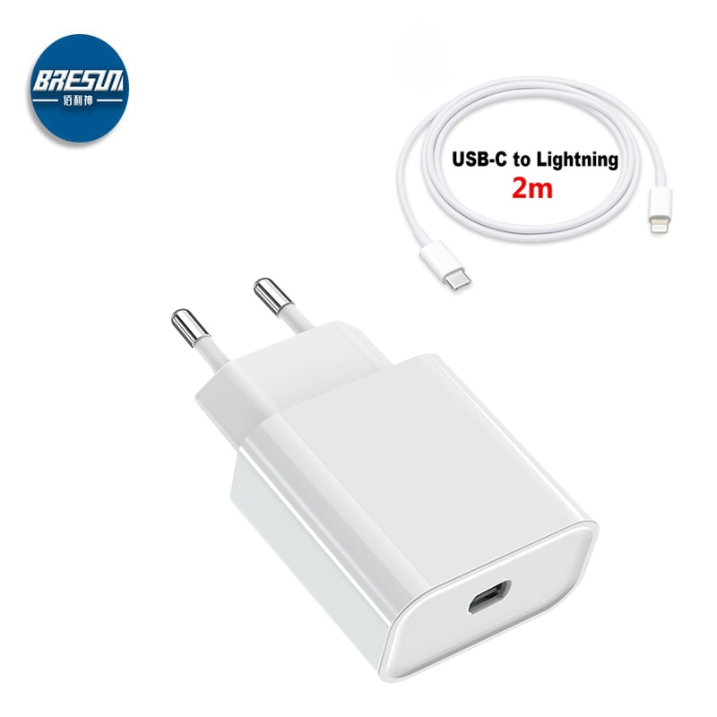 MA ANT 20 W Fast Charge Charger Power Adapter Fast Charger For iPhone 12 Qualcomm Quick Charge 3.0 Travel Charger