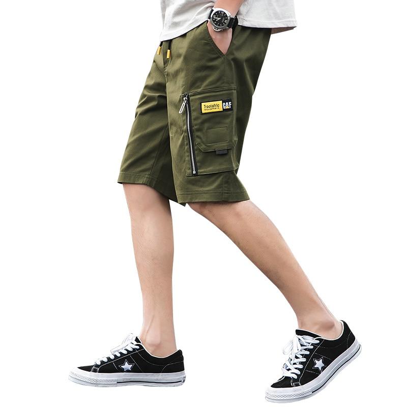 New Summer Sweat Shorts Brand Classic Cottton Men Shorts Pocket Sports Casual Short Pants Loose Work