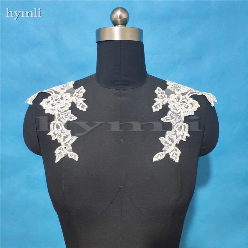Съемный Свадебный светильник цвета слоновой кости, белые бретельки для свадебного платья, погоны