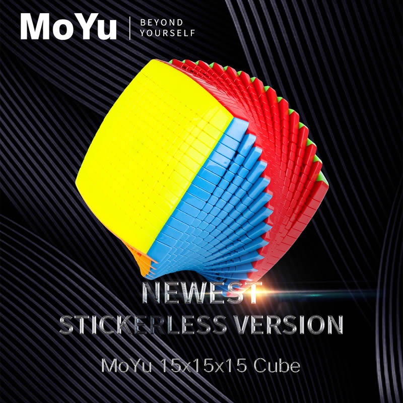 Original High Quality MoYu 15x15x15 Magic Cube 15x15 Speed Puzzle Christmas Gift Ideas Kids Toys