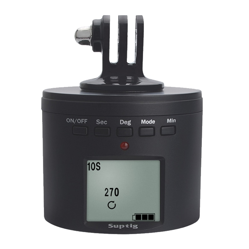 Suptig Smart Multifunction Time Roating Mount Adapter for Gopro Max Hero 9 8 Iphone Dji Osmo Insta36