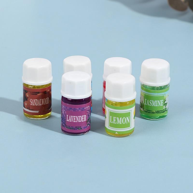 6pcs 3ml Essential Massage Aroma Essential Oils Aromatherapy Diffusers Fragrances Lemon