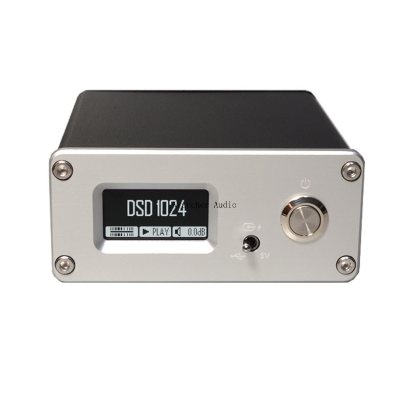 Nvarcher USB واجهة رقمية SPDIF محوري AES إخراج الألياف البصرية I2S HDMI متوافق DSD1024 PCM768
