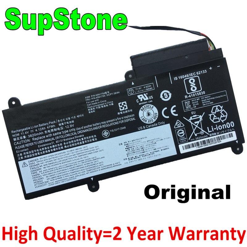 SupStone Original E450C batería del ordenador portátil para Lenovo thinkpad E450 E460 E460C 45N1752 45N1753 45N1757 45N1756 45N1755