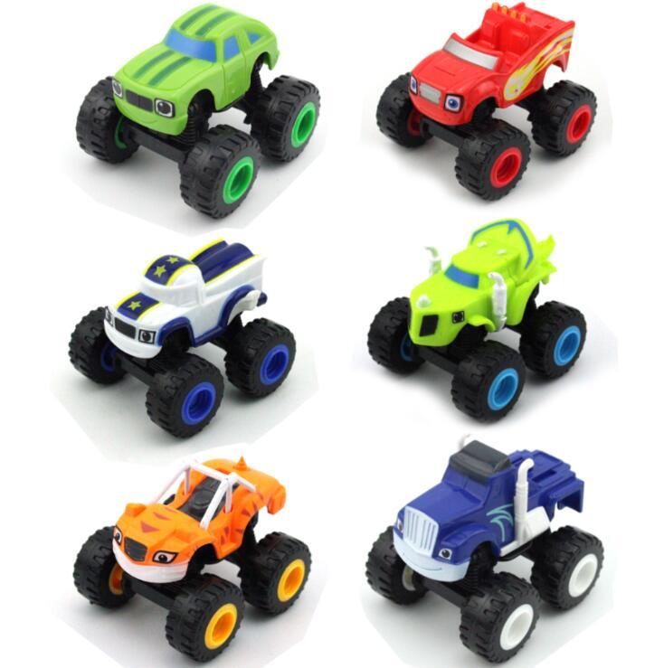 Машинки-монстеры, автомобильные игрушки, русская чудо-дробилка, грузовик, автомобили, фигурки, блестящие игрушки для детей, подарки на день ...