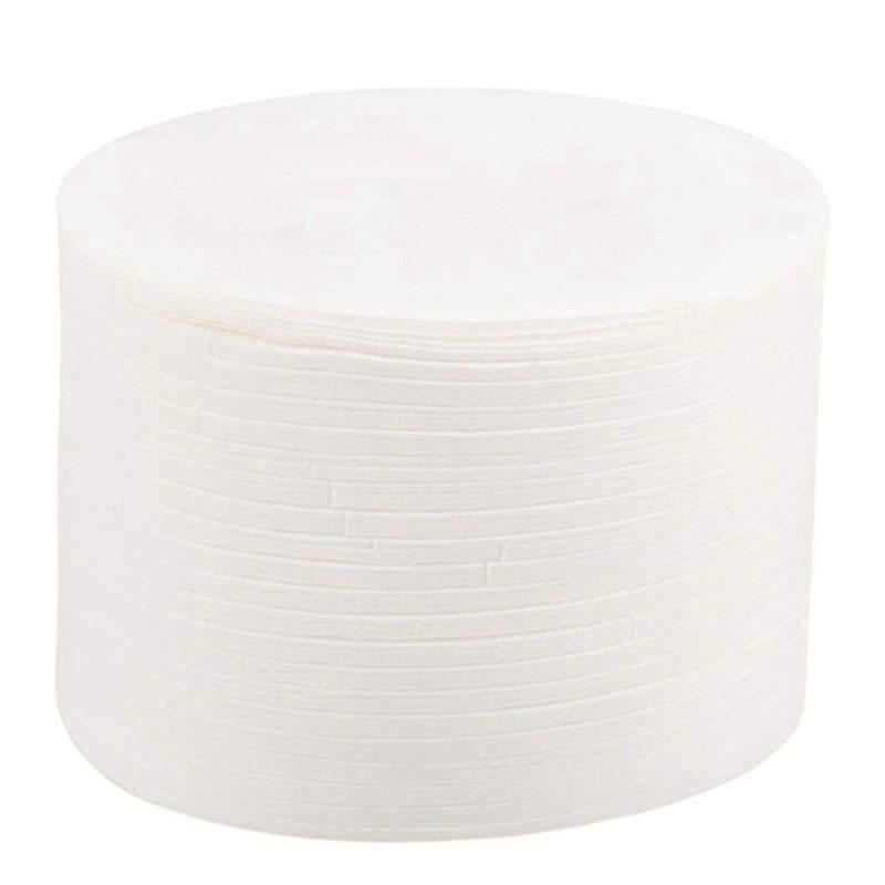 500PCS Moka Pot Filter Paper Oil Filter Paper Italian Coffee Round Filter Paper Ice Drop Filter Paper