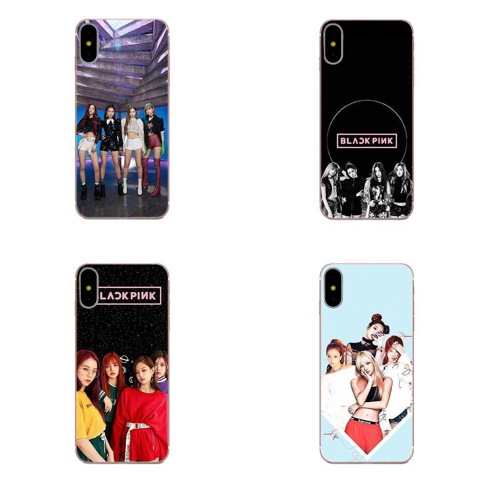 Pintado Kpop Blackpink Photocard Blackpink para Huawei Honor 4C 5A 5C 5X 6 6A 6X 7 7A 7C 7X 8 8C 8 9 10 10i 20 20i Lite Pro